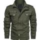 Finley Green Bomber Style Jacket