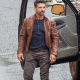 Frank Grillo Boss Level Roy Pulver Leather Jacket