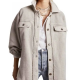 Free People Oversize Ruby Wool Jacket