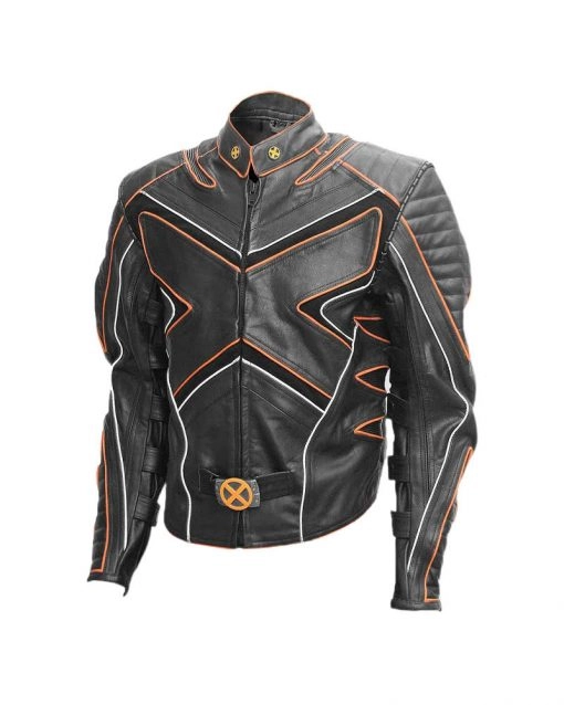 Hugh Jackman Wolverine X Men Leather Jacket