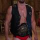 Jack Spade Heels 2021 Stephen Amell Black Leather Vest