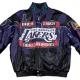 Jeff Hamilton Back 2 Back Championship LA Lakers 2001 Leather Jacket