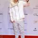 Justin Bieber White Leather Jacket