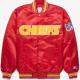 Kansas City Chiefs Satin Bomber Jacket