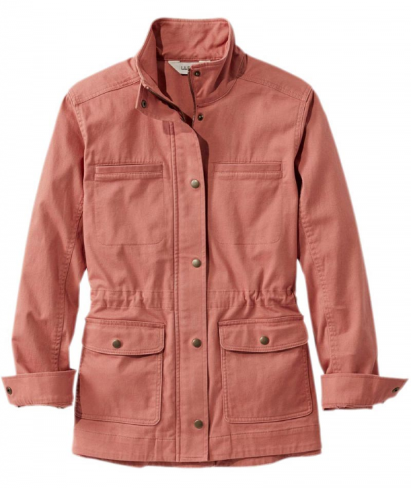 Light Pink Utility Cotton Jacket