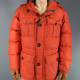 Martin Freeman Fargo TV Series Lester Nygaard Orange Parachute Jacket