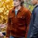Nancy Drew Alex Saxon Suede Leather Jacket