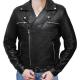 Negan Police Biker Leather Jacket