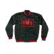 New Worlds Order NWO Varsity Bomber Satin Jacket