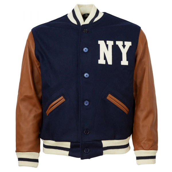 New York Black Yankees 1940 Authentic Wool Jacket