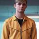 Ottos Farrant Alex Rider Yellow Bomber Cotton Jacket