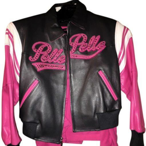 Pelle Pelle 1978 Pink Leather Jacket