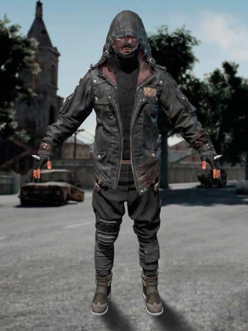 Playerunknown's Battlegrounds PUBG Blacks Leather Jacket