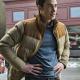 Resident Alien Ben Hawthorne Brown Cotton Puffer Jacket