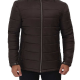 Stuart Dark Brown Puffer Jacket