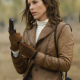 The Mummy Tomb Of The Dragon Emperor Maria Bello Brown Leather Jacket