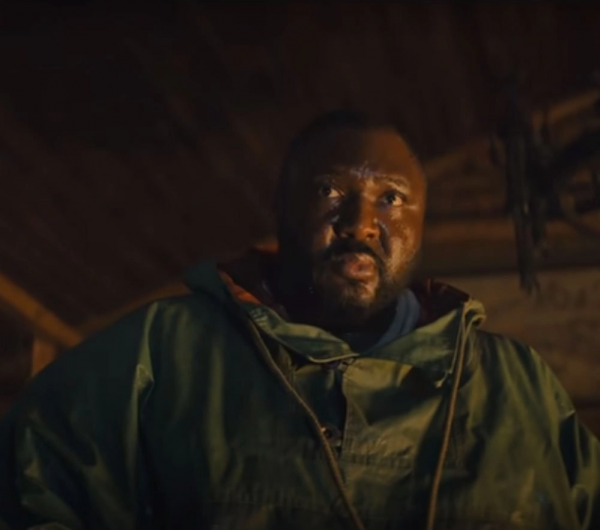 Tommy Jepperd Sweet Tooth (2021) Nonso Anozie Green Hooded Jacket