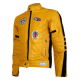 Uma Thurman Kill Bill Yellow Motorcycle Leather Jacket