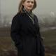 Val Ahern TV Series Dervlas Kirwan Smother Black Trench Wool Coat