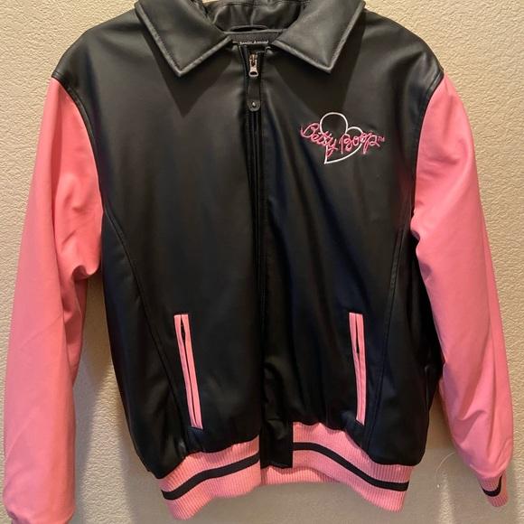 Vintage Betty Boop Leather Jacket