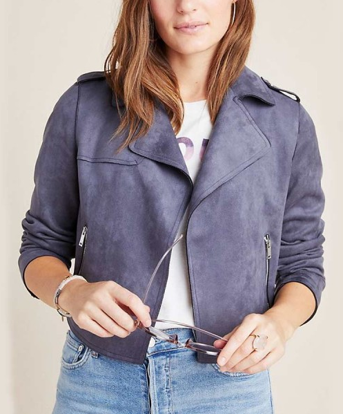 13 Reasons Why Season 4 Jessica Davis Suede Leather Jacket