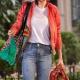 A Rainy Day In New York Selena Gomez Satin Jacket