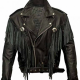 Alba Flores Money Heist TV Series Leather Jacket