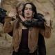 Ana de la Reguera The Forever Purge Adela Leather Jacket