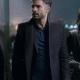Andrés Carranza Dávila TV Series Monarca Black Wool Trench Coat