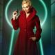 Annie Terminals Margot Robbie Wool Trench Coat
