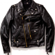 Badass J-24 Black Biker Leather Jacket