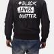 Black Lives Matter Bomber Leather Jacket