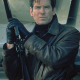 Bond Pierces Tomorrow Never Dies James Bond Leather Jacket