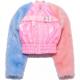 Bubble Gum Faux Fur Jacket