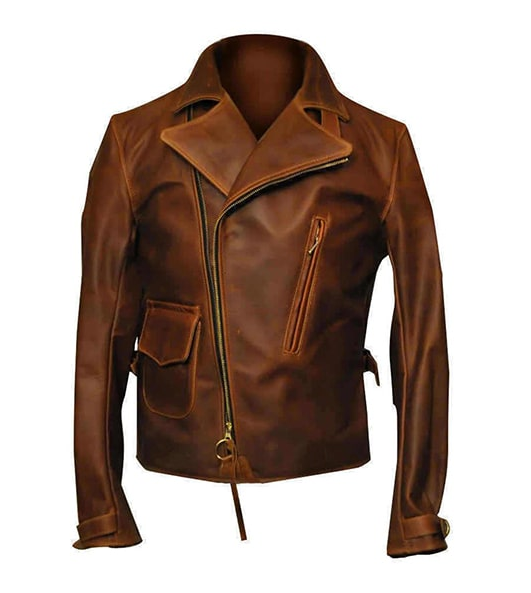 Captain America First Avenger Steve Rogers Leather Jacket