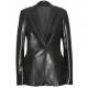 Captain America Natasha Romanoff Winter Soldier Leather Coat