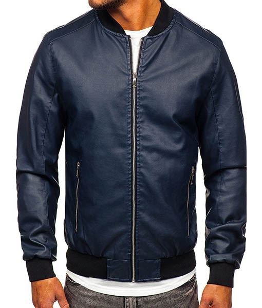Daniel Grao HIT 2020 Hugo Ibarra Toledo Leather Jacket