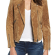 Deads To Me Linda Cardellini Suede Leather Jacket