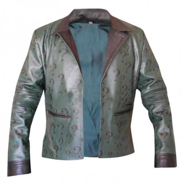 Edward Nigma The Riddler Batman Leather Jacket