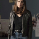 Elizabeths Keen The Blacklist Series Megan Boone Biker Leather Jacket