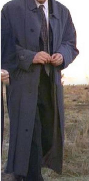 Fox Mulder David Duchovny X-files Trench Coat