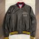 Gucci Pirates Black Bomber Leather Jacket