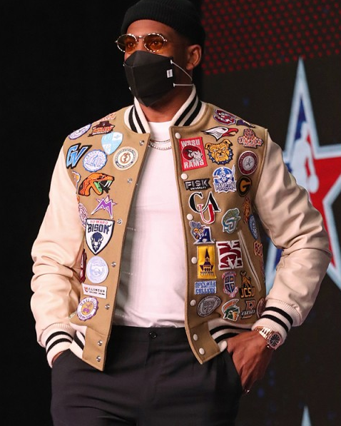 HBCU Chris Paul Emblem Star Game Wool Jacket
