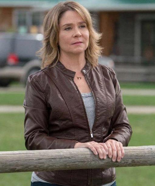 Heartland Lily Borden Megan TV Series Follows Leather Jacket