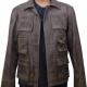 Jason Voorhees Mortal Kombat Brown Leather Jacket