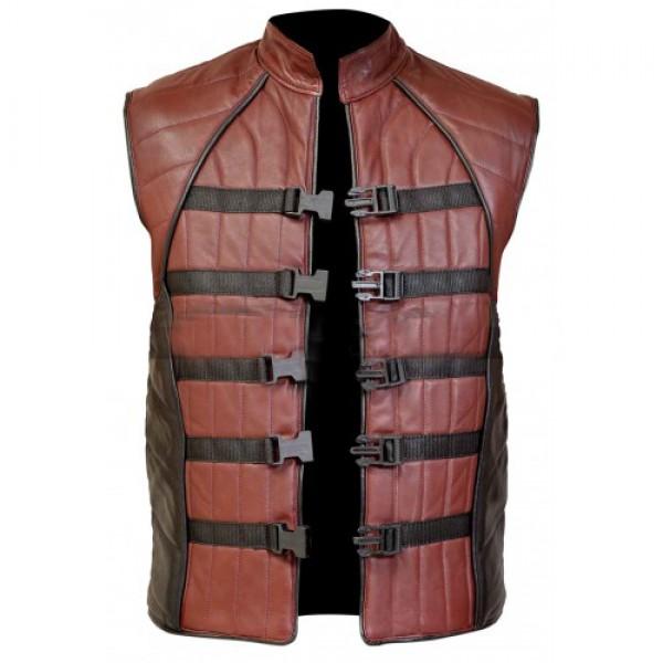 John Crichton Ben Browder Farscape Leather Vest