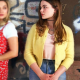 Kate Wallis Cruel Summers 2021 Olivia Holt Yellow Wool Jacket