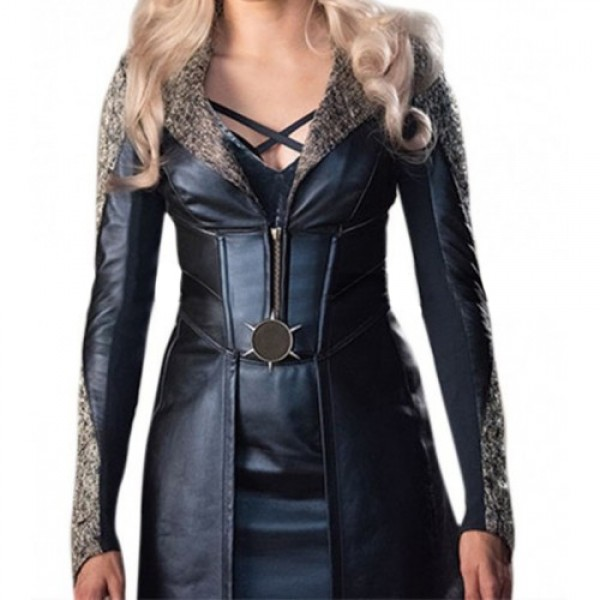 Killer Frost Caitlin Snow Flash S3 Danielle Panabaker Leather Coat