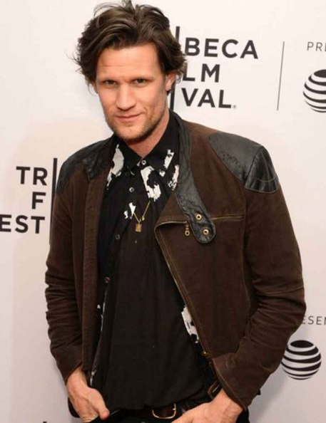 Matt Smith Last Night in Soho Suede Leather Jacket