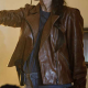 Midnight In The Switchgrass Rebecca Lombardi Leather Jacket
